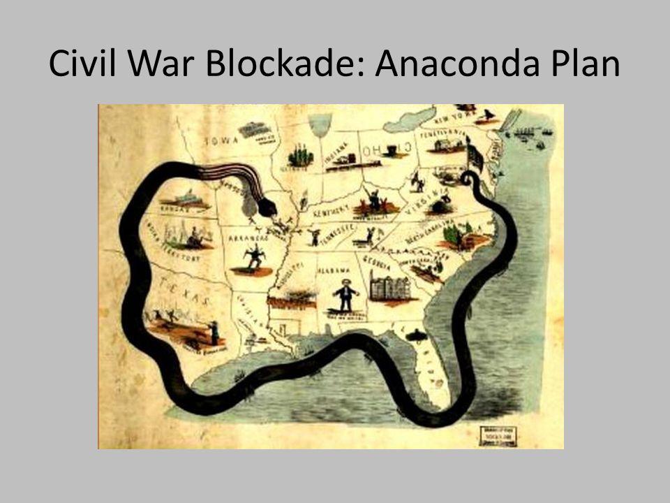 Civil War Blockade: Anaconda Plan