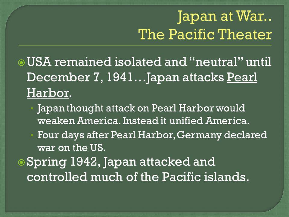 Japan at War..