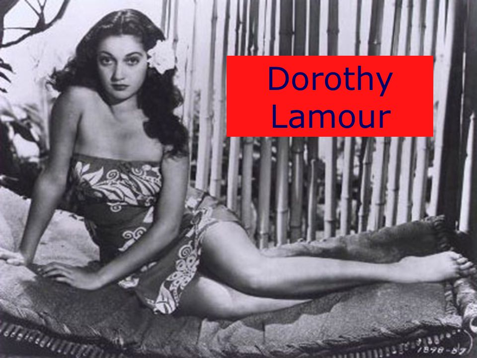 WWII Images 10 Dorothy Lamour
