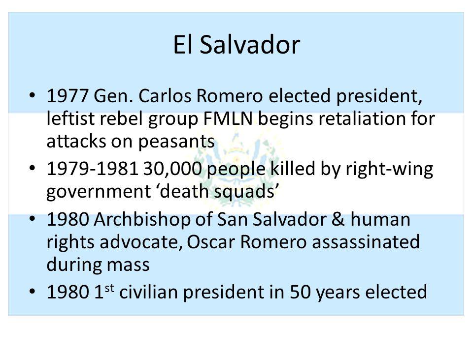 El Salvador 1977 Gen.