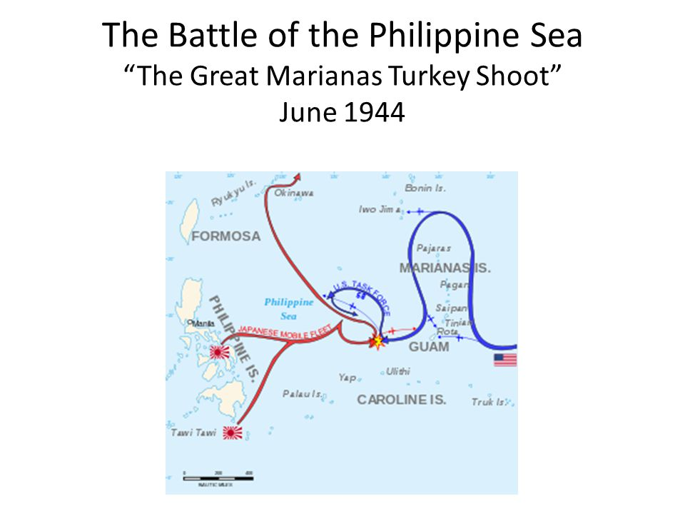 The Battle of the Philippine Sea The Great Marianas Turkey Shoot June 1944