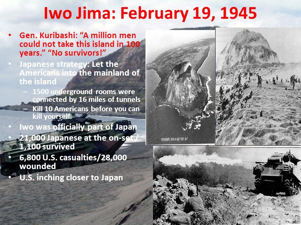 Iwo Jima: February 19, 1945 Gen.