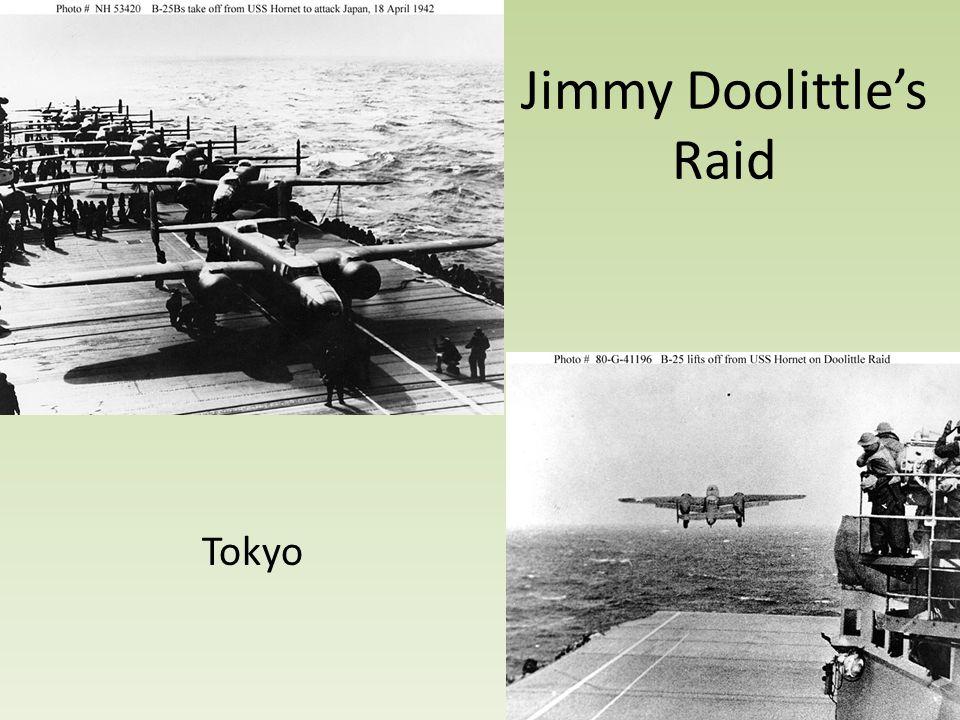 Jimmy Doolittle's Raid Tokyo