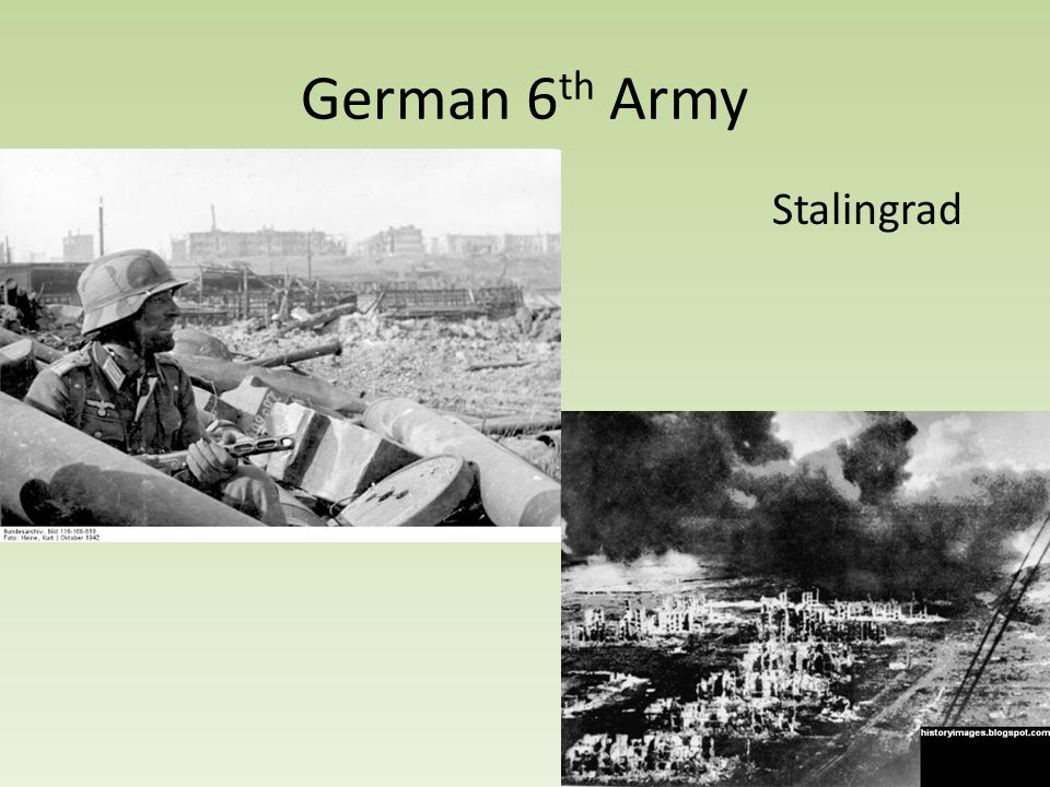 German 6 th Army Stalingrad