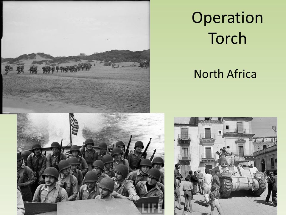 Operation Torch North Africa