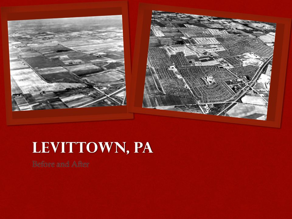 Levittown, PA Before and After