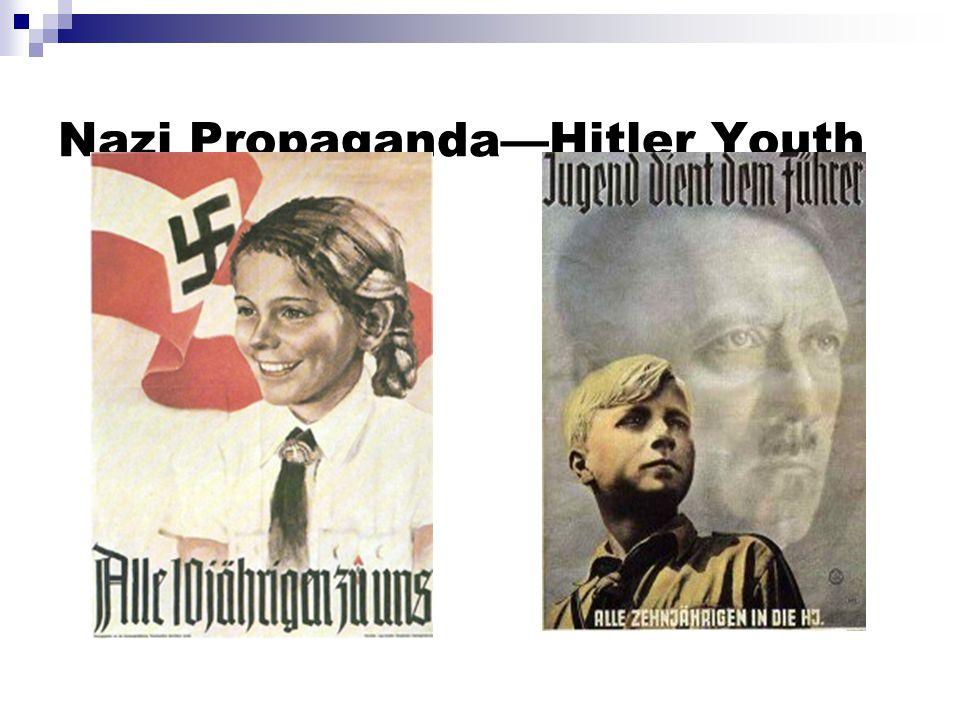 Nazi Propaganda—Hitler Youth