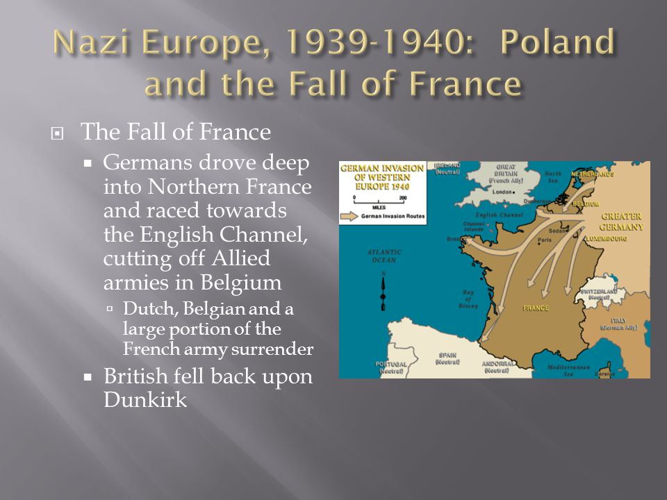  The Desert Campaigns  Started in 1940 w/Italian invasion from Libya into Egypt  Control of Mediterranean/Suez Canal at stake  British counterattack swept Italy out of Egypt, Libya and Ethiopia by early 1941  In spring of 1941, German elite force (Afrikacorps) under General Rommel attacked in Libya and drove British back to Egypt