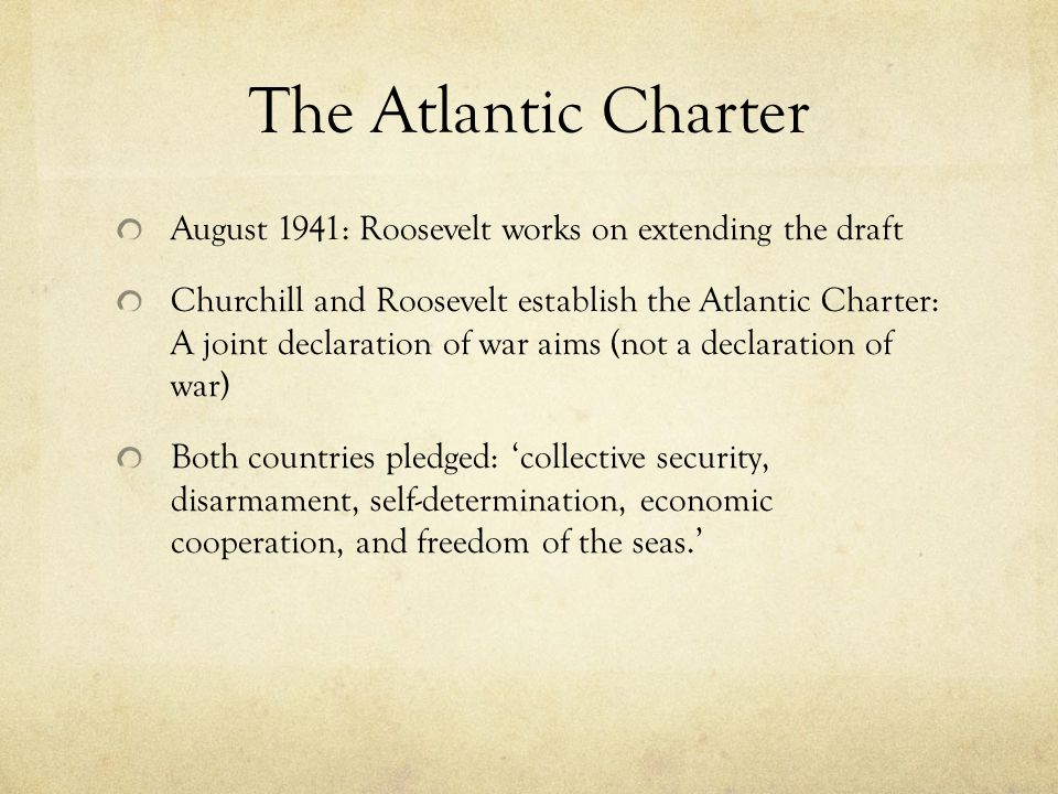 Trouble at Sea September 4, 1941: German submarine fires on the U.S.