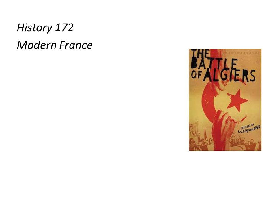 History 172 Modern France