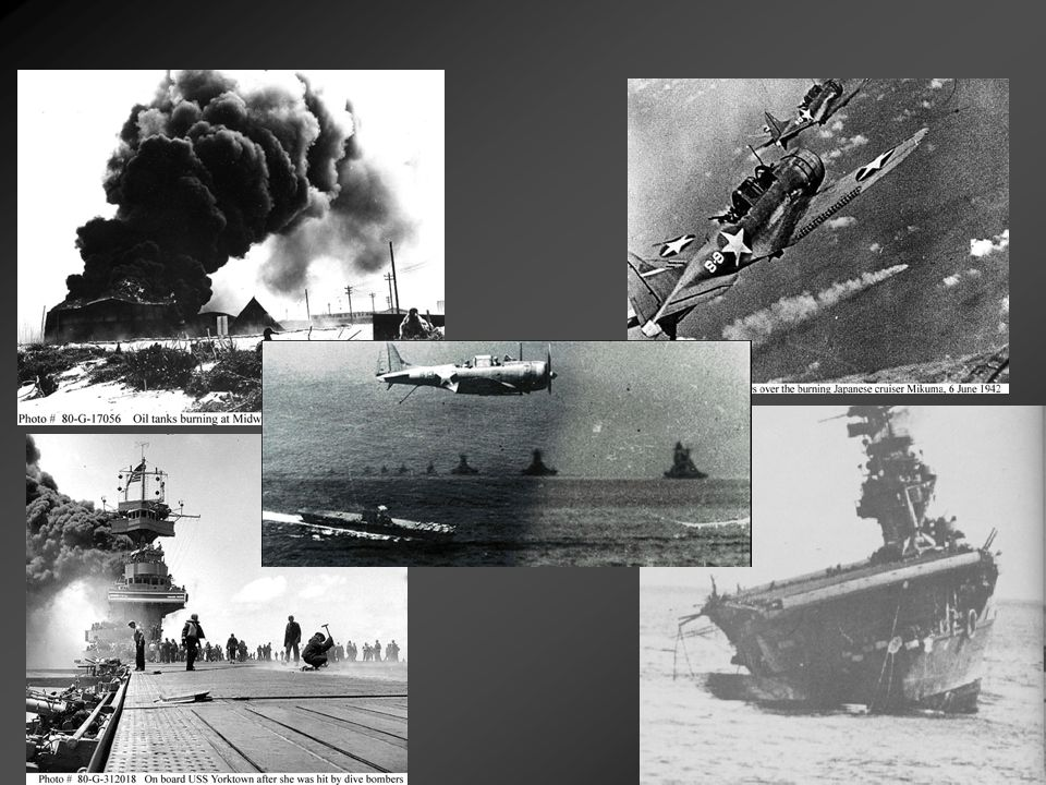 The Course of WWII The Allies Advance (546-550): Fall of 1942: Allied forces begin two major operation plans against Japan.