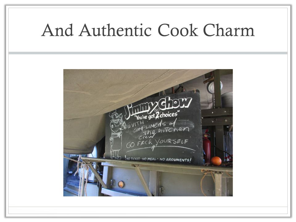 And Authentic Cook Charm