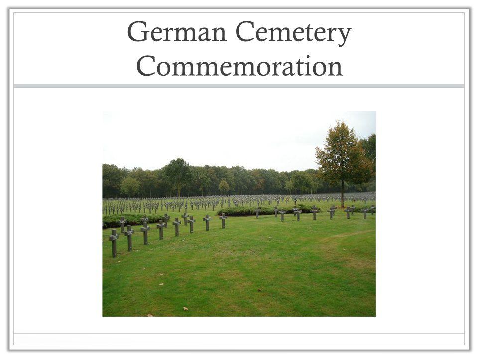 German Cemetery Commemoration