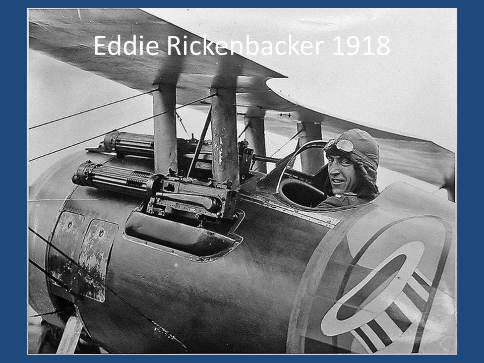 Eddie Rickenbacker 1918