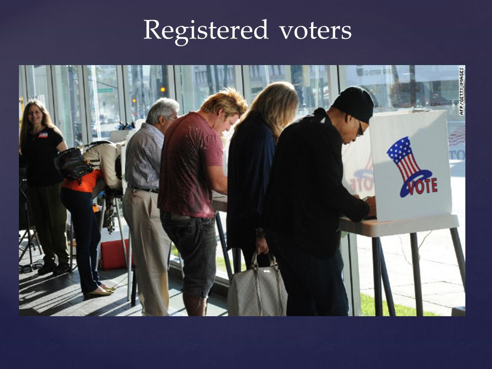 Registered voters