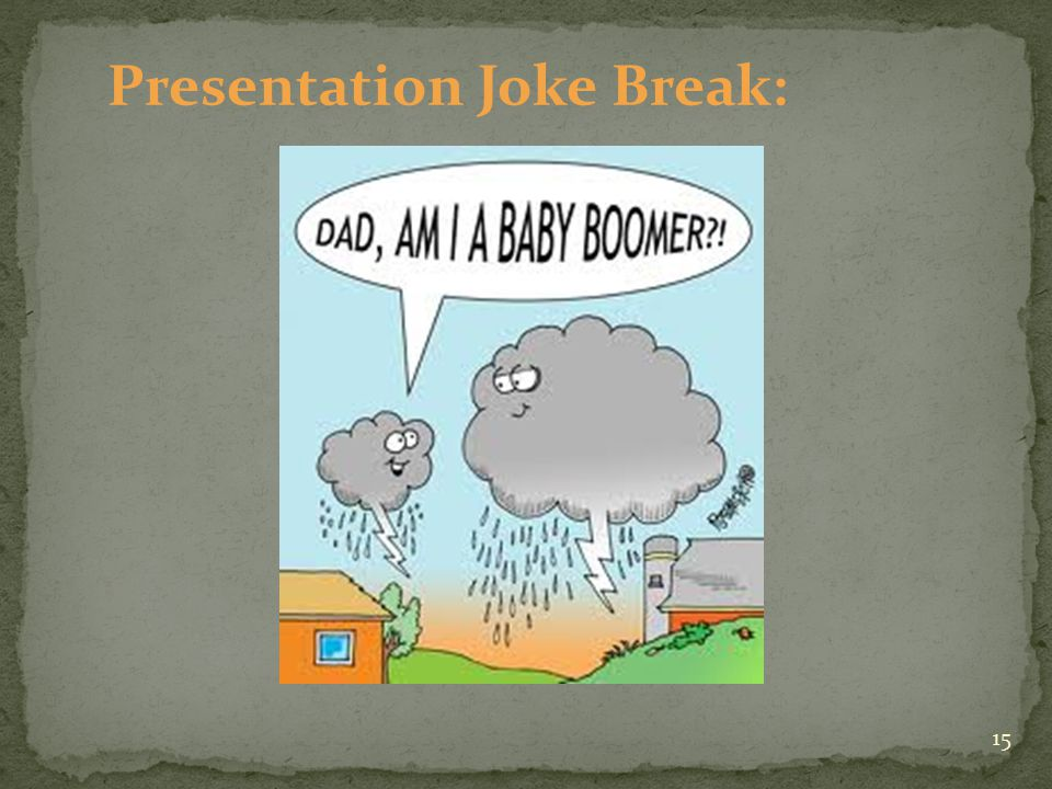 Presentation Joke Break: 15