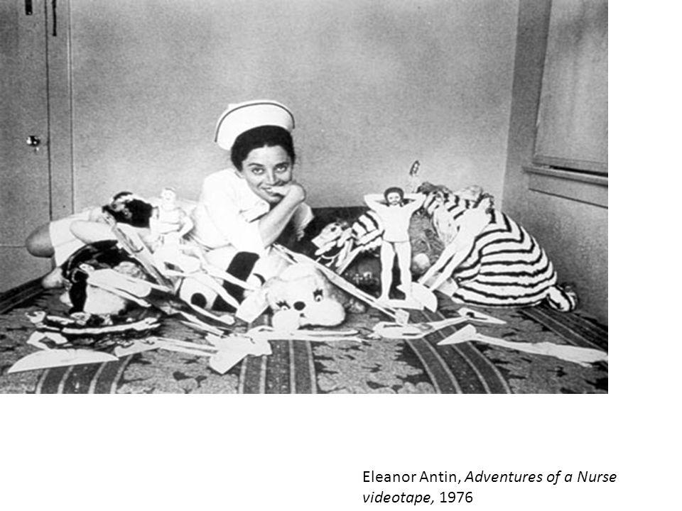 Eleanor Antin, Adventures of a Nurse videotape, 1976
