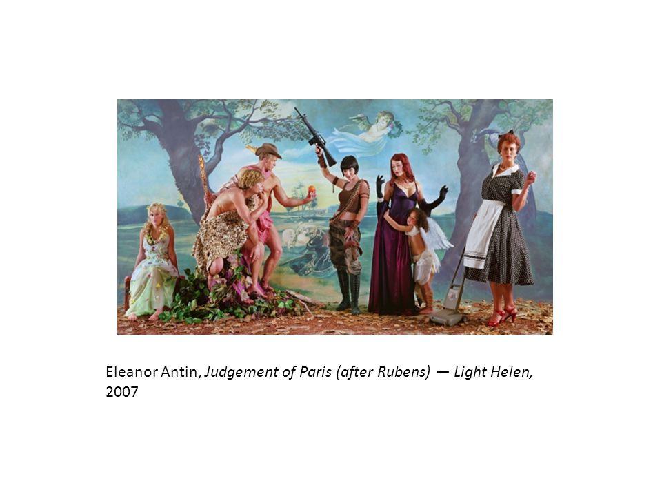 Eleanor Antin, Judgement of Paris (after Rubens) — Light Helen, 2007