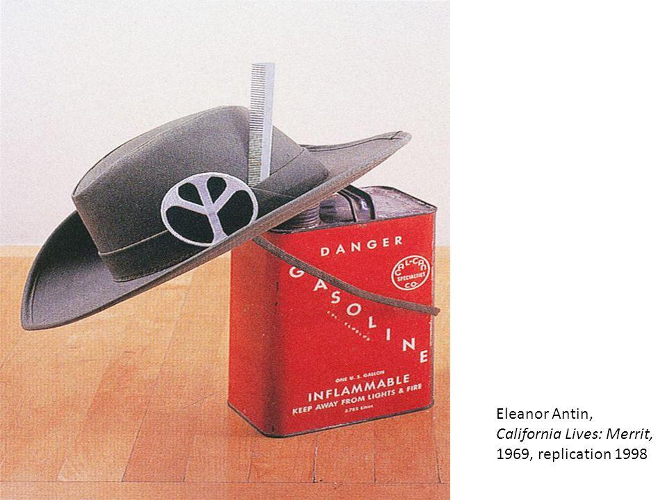 Eleanor Antin, California Lives: Merrit, 1969, replication 1998