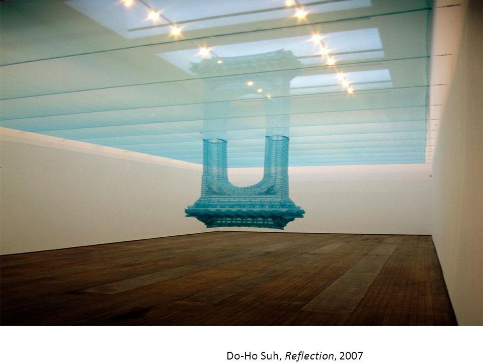 Do-Ho Suh, Doormat: Welcome (Pink), 2000