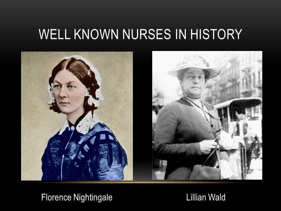 TAKE HOME ACTIVITY (HOMEWORK) How could nursing history be integrated or applied in the practice of nursing by professional nurses in these categories.