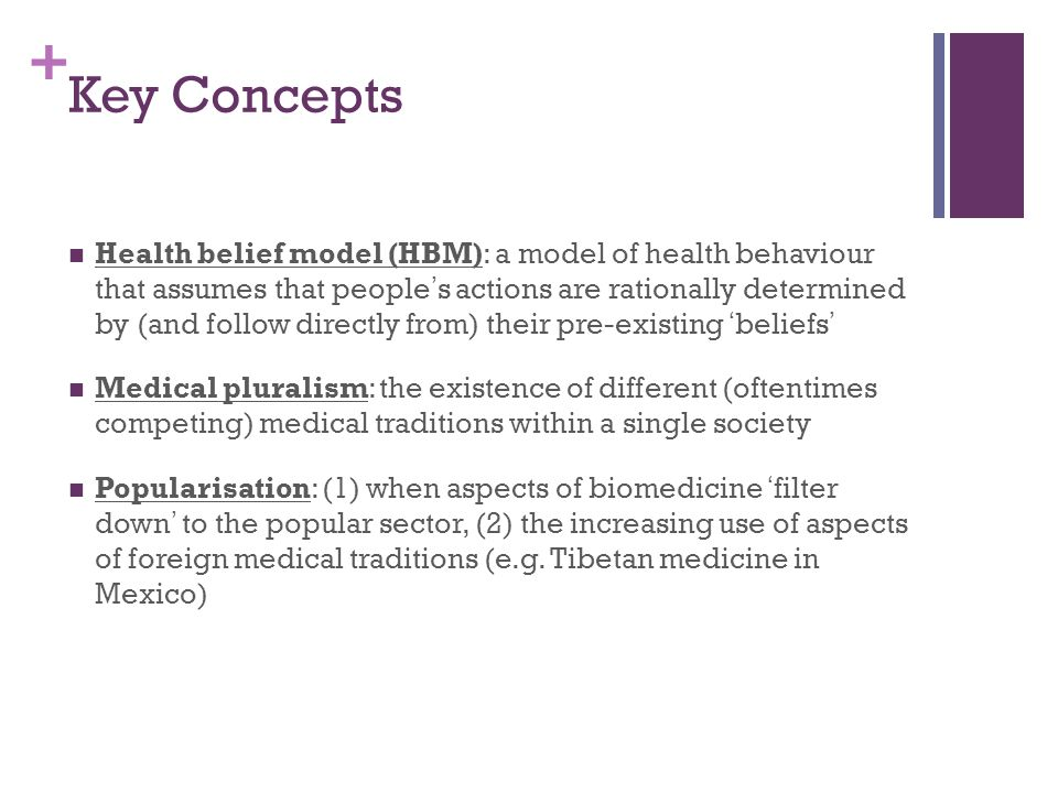 + Key Concepts Aetiology: an explanation of the cause or origin of a disease Affliction: the cause or state of mental or bodily pain, distress, grief, or misery Epistemology: a branch of philosophy concerned with the nature of knowledge Explanatory model (EM): attributed to Arthur Kleinman, an EM is comprised of ideas about a particular episode of sickness and treatment (e.g., a patient's explanatory model may diverge considerably from that of a physician)