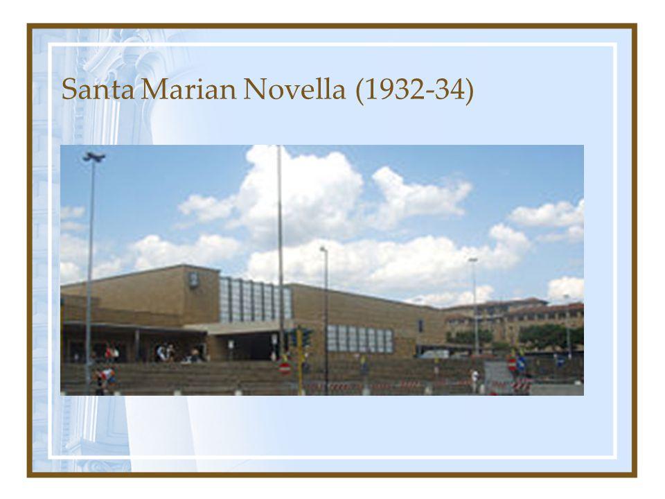 Santa Marian Novella (1932-34)