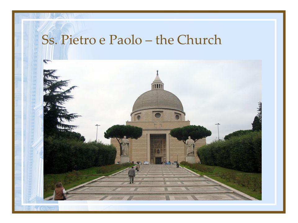 Ss. Pietro e Paolo – the Church