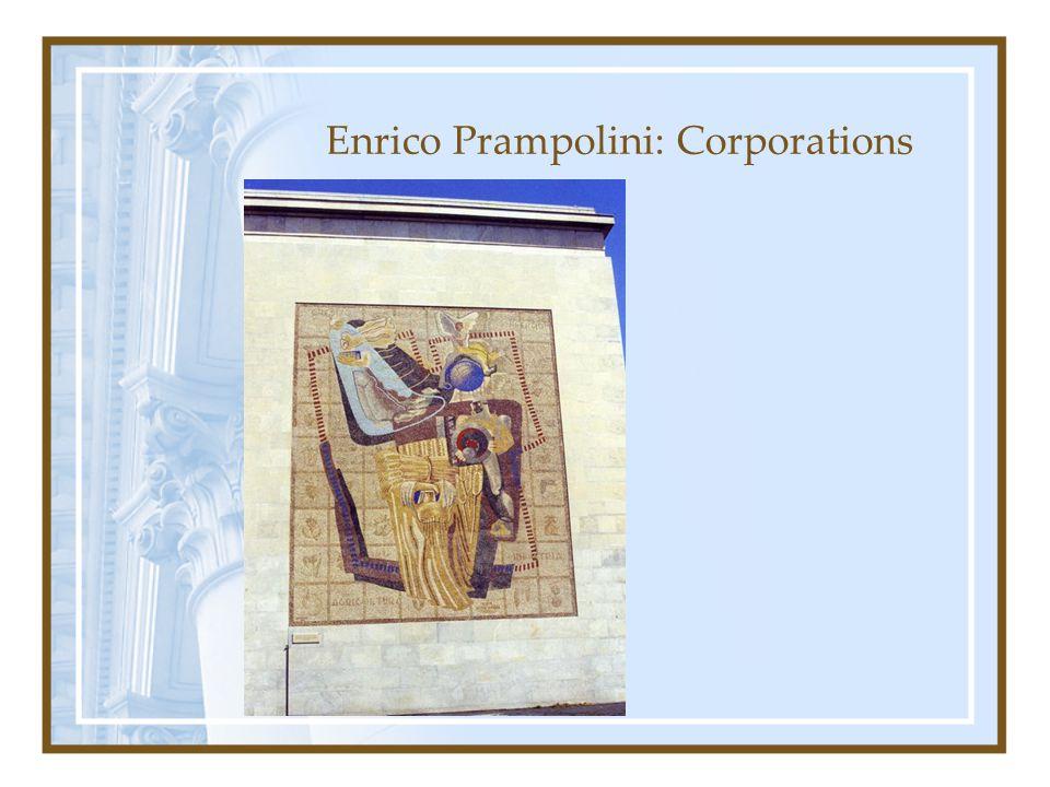 Enrico Prampolini: Corporations
