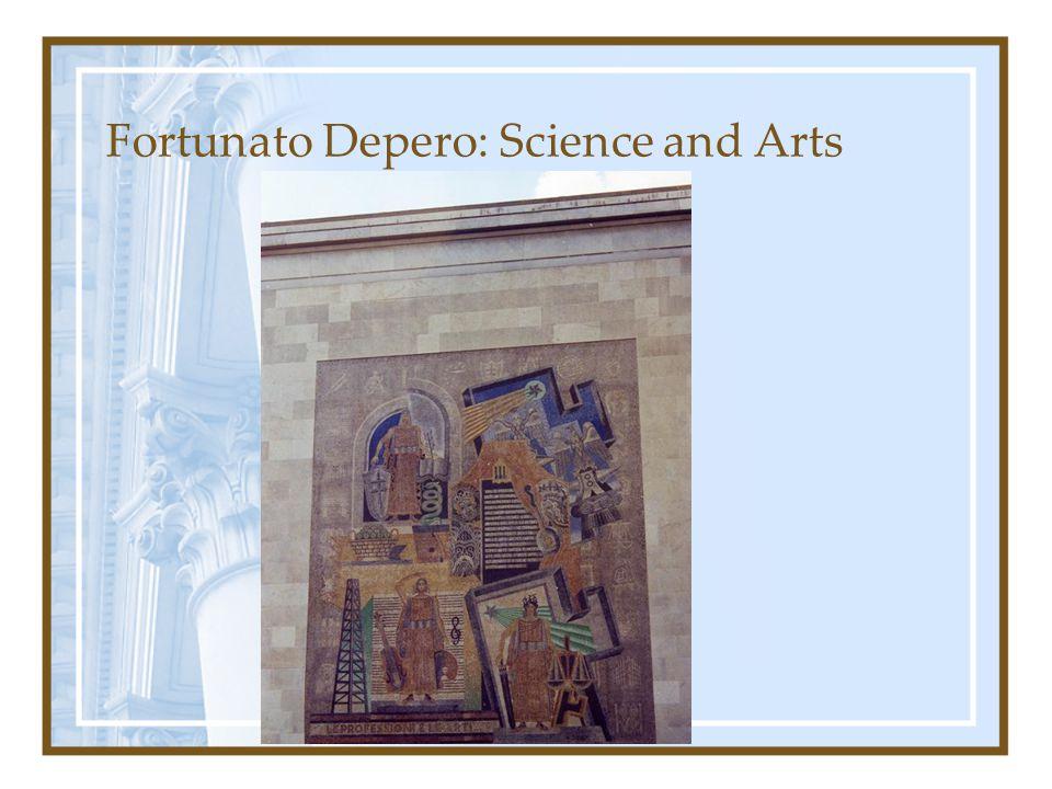 Fortunato Depero: Science and Arts