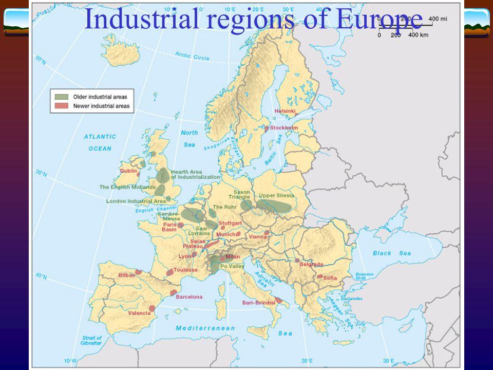 Industrial regions of Europe