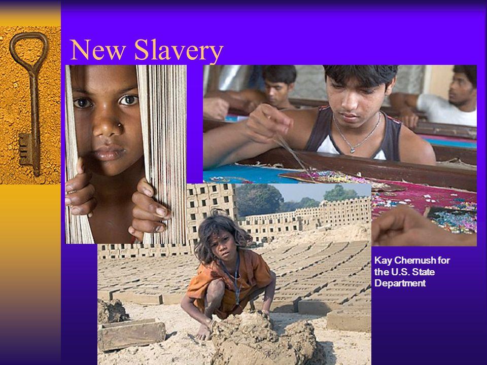 How has slavery evolved.