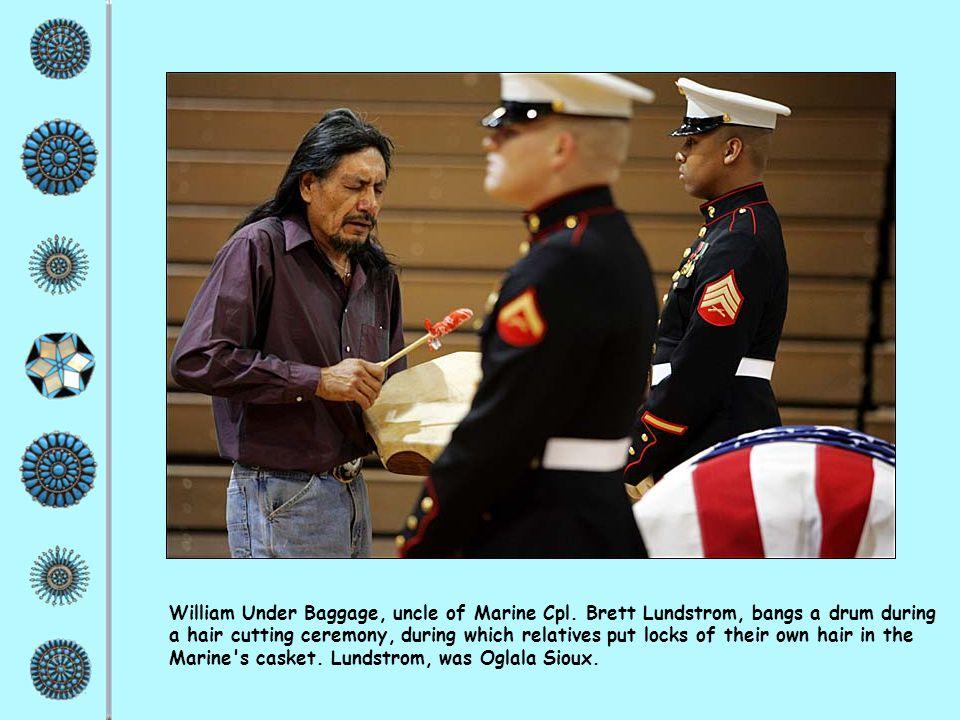 William Under Baggage, uncle of Marine Cpl.