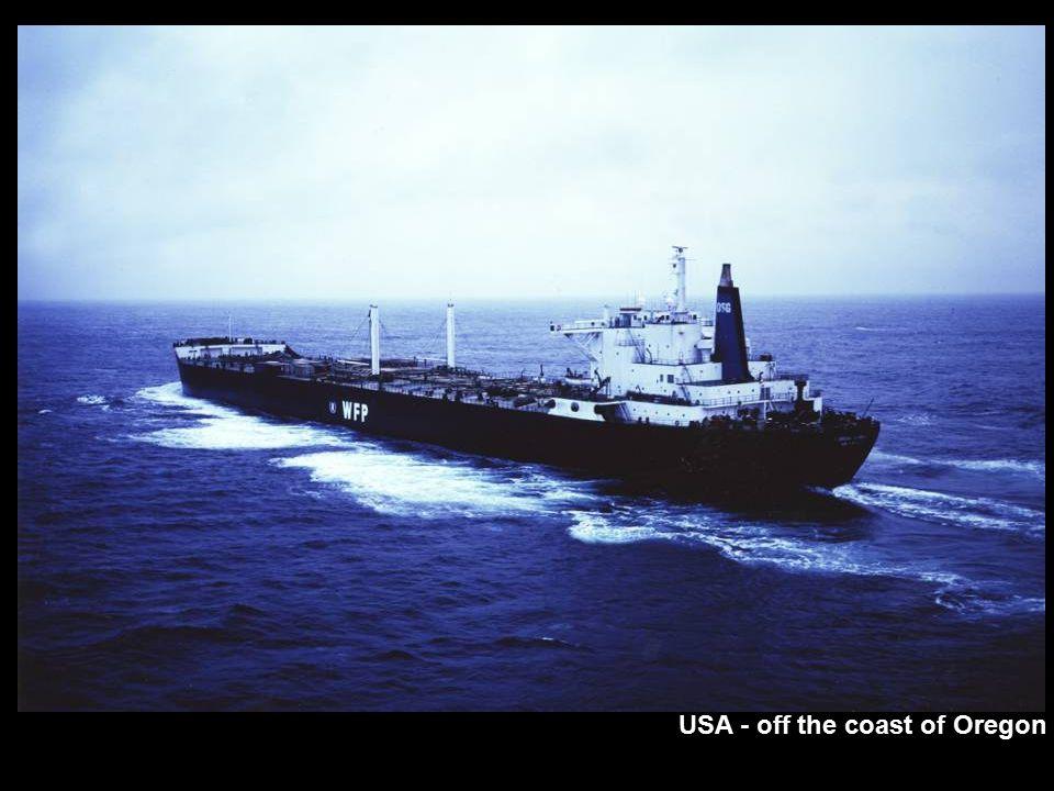 USA - off the coast of Oregon
