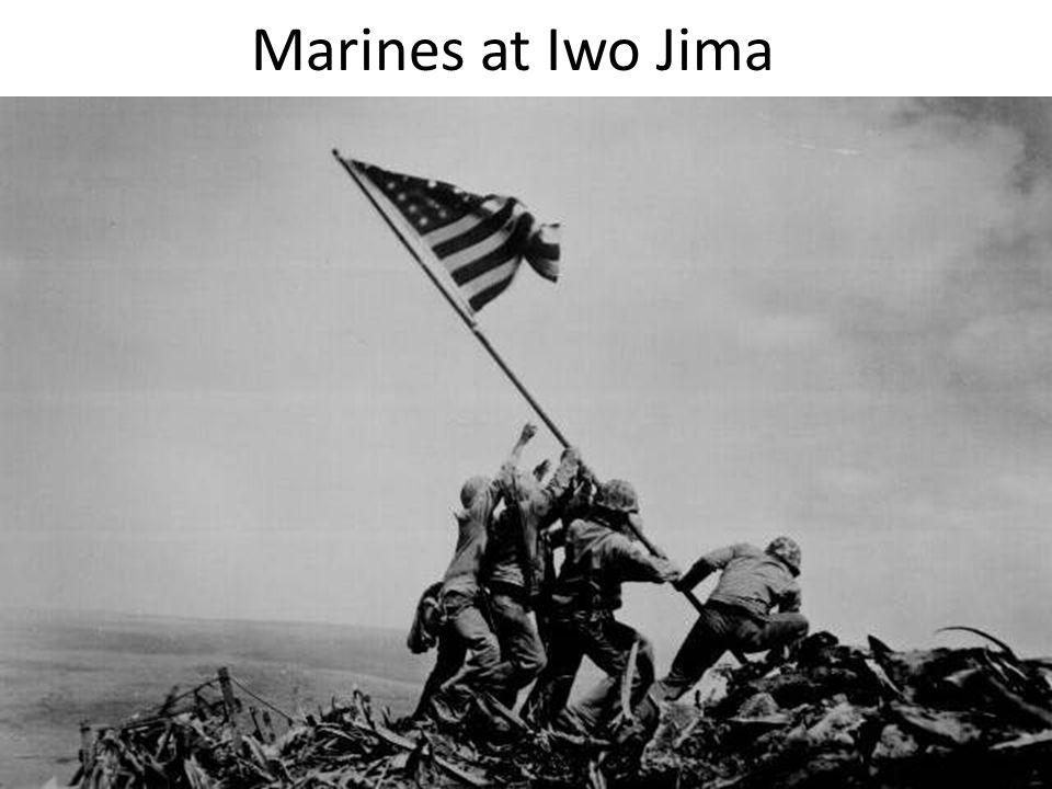 Marines at Iwo Jima