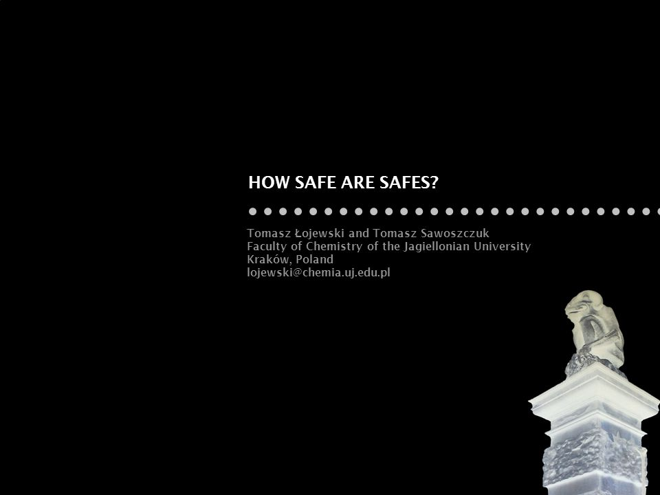 HOW SAFE ARE SAFES.