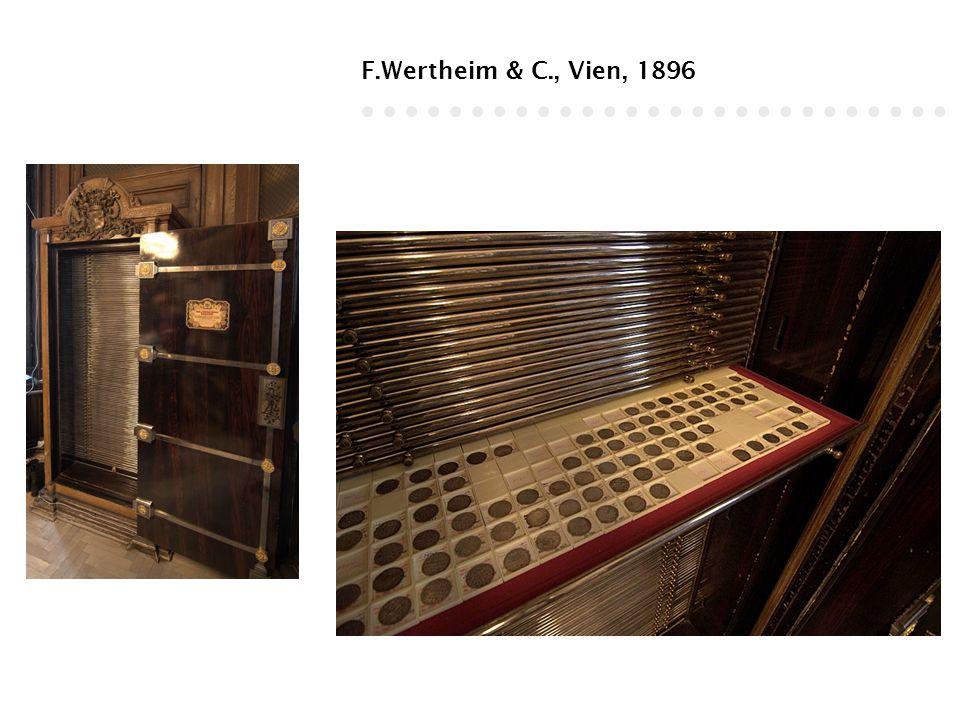 F.Wertheim & C., Vien, 1896