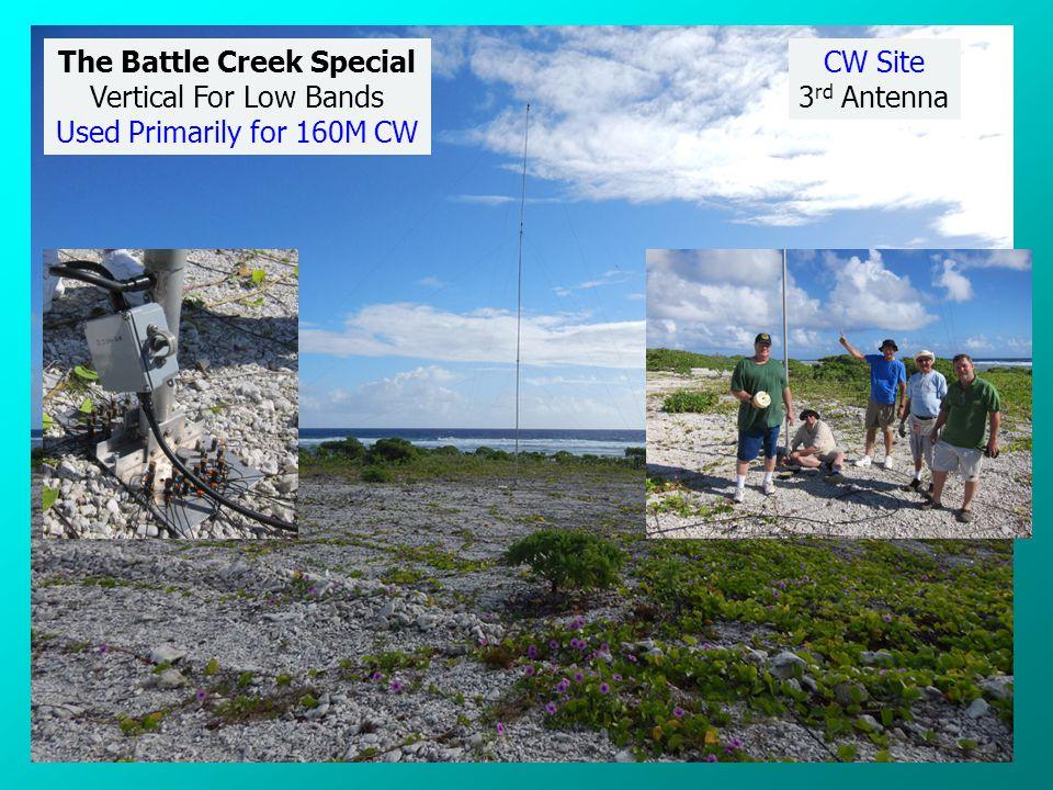 X Rear Of Chapel Big IR + 80M Big IR Marine Memorial CW Site Antennas