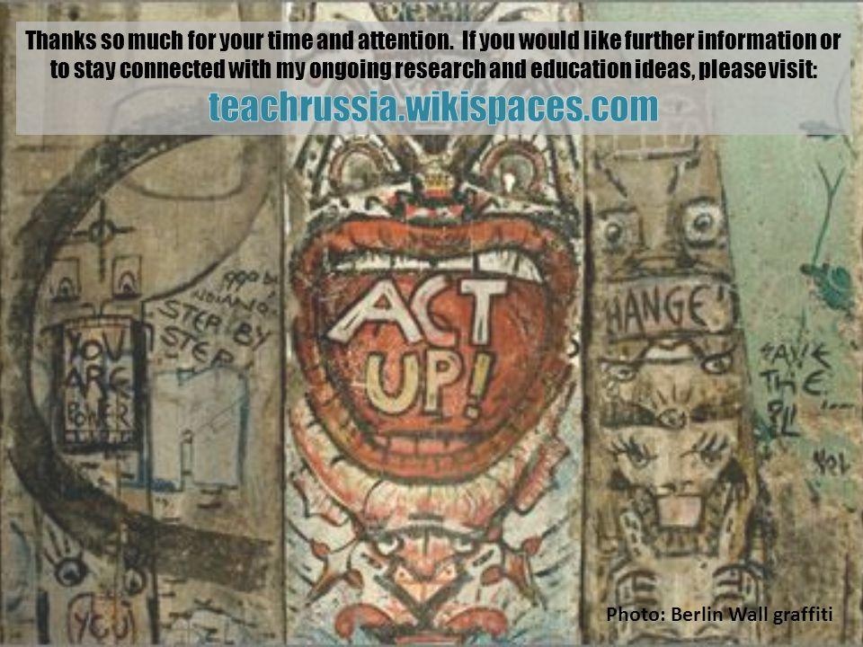Photo: Berlin Wall graffiti