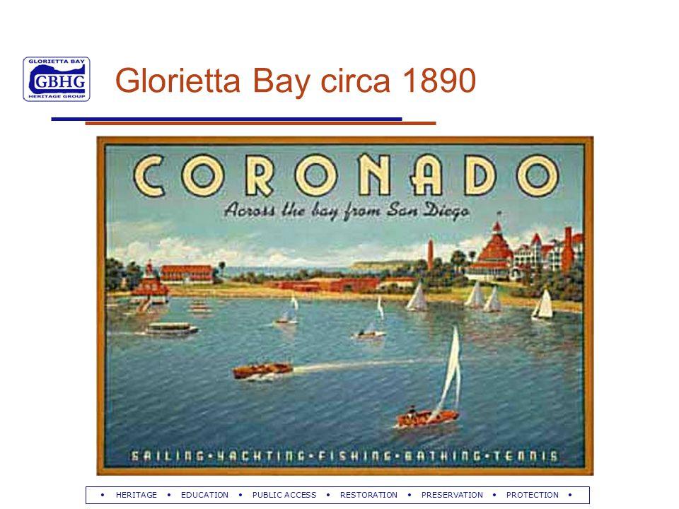 HERITAGE EDUCATION PUBLIC ACCESS RESTORATION PRESERVATION PROTECTION Glorietta Bay circa 1890