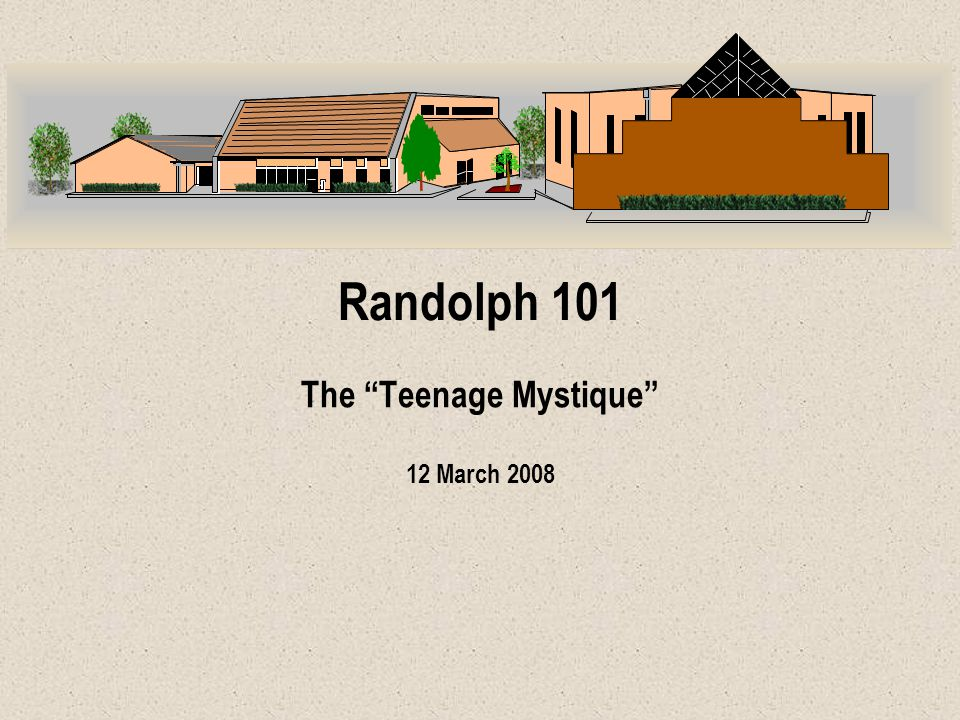 The Teenage Mystique : Definition Mystique — an air of mystery and deference surrounding a thing that gives that thing special power Examples: Bill Brewer, 29 Dec 07 2 The Cowboy Mystique The Kennedy Mystique The Feminine Mystique