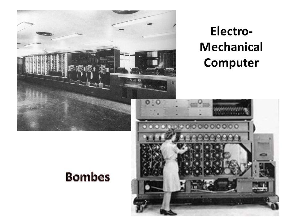 Electro- Mechanical Computer
