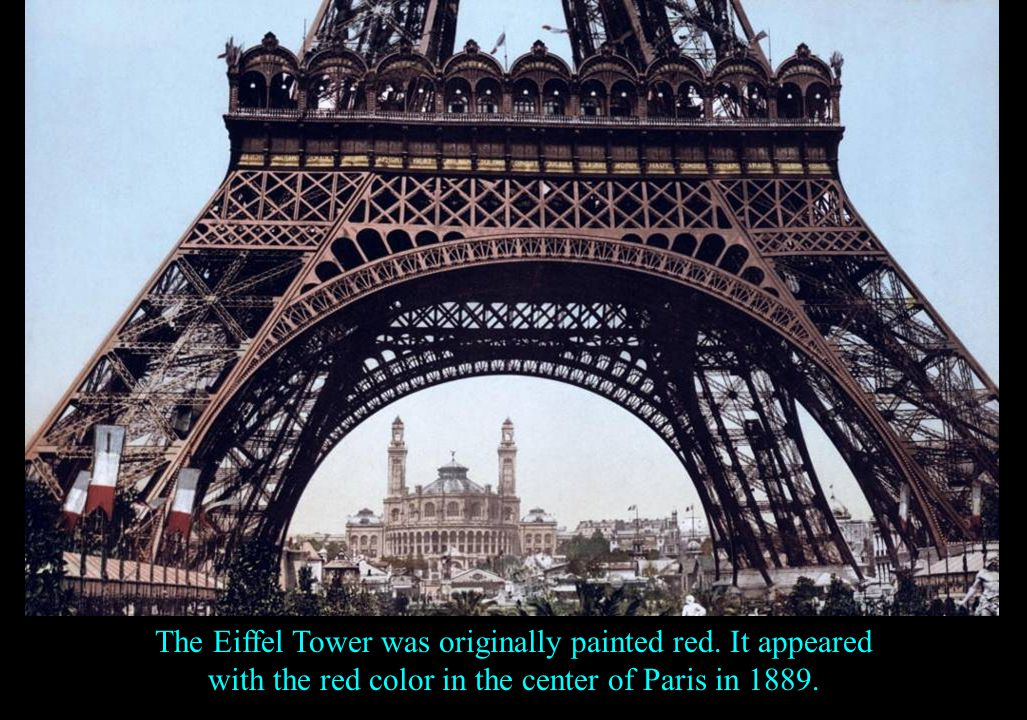 The Eiffel Tower in Paris has a light show that runs for 5 minutes every hour, every night, until dawn.