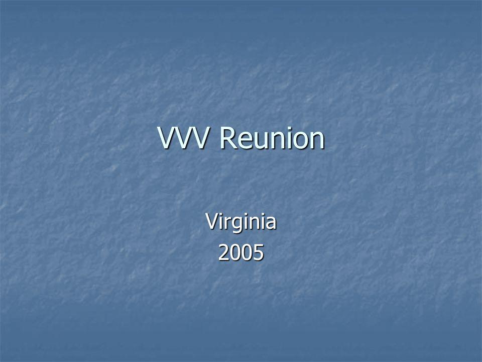 VVV Reunion Virginia2005