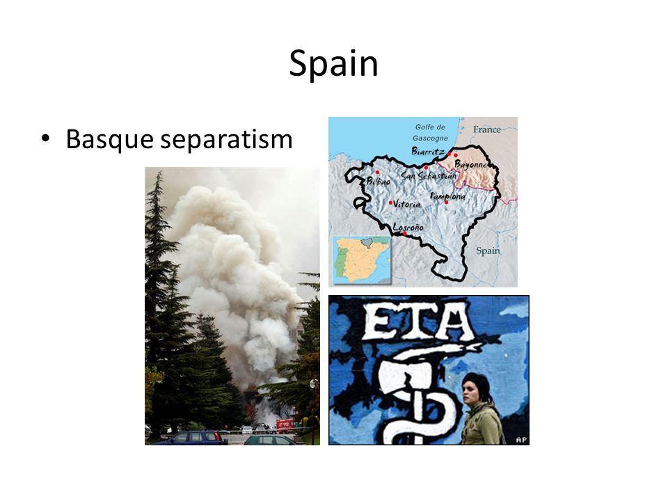 Spain Basque separatism