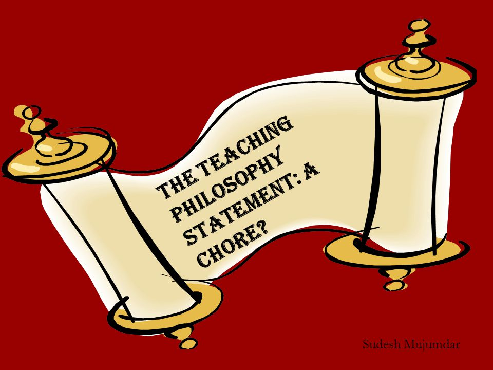 Do We Care Enough About the Teaching Philosophy Statement.