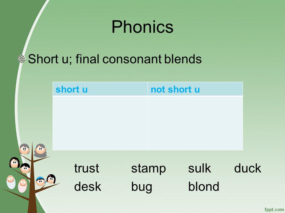Phonemic Awareness Segment and Blend Words