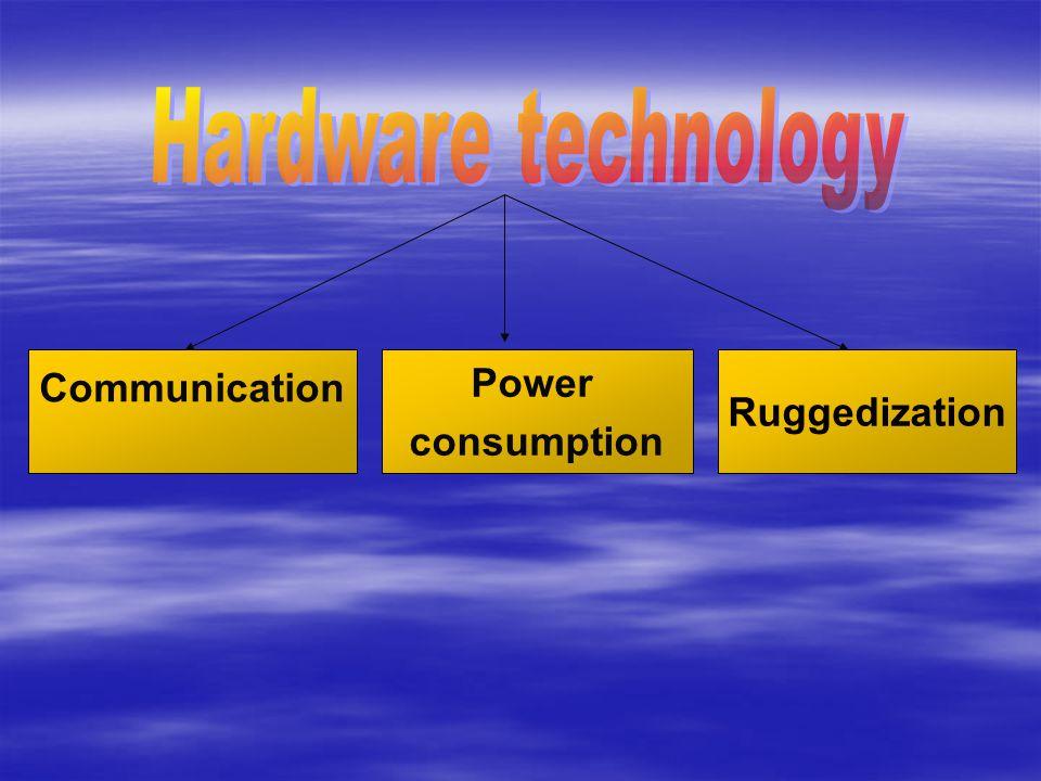 Communication Power consumption Ruggedization