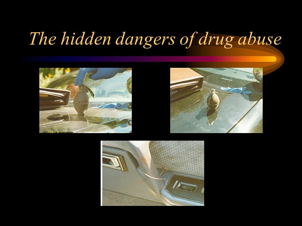 The hidden dangers of drug abuse