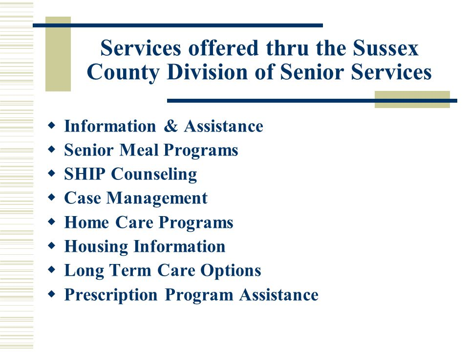 INFORMATION & ASSISTANCE SCREENING  I & A screening is done upon initial contact with the caregiver/client, be it walk-in or via telephone.